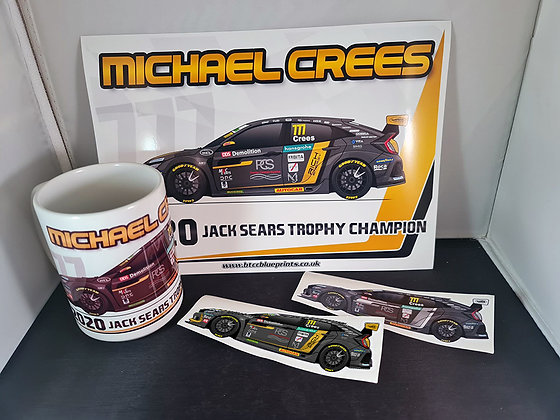 Michael Crees 2020 Jack Sears Trophy Champion Pack