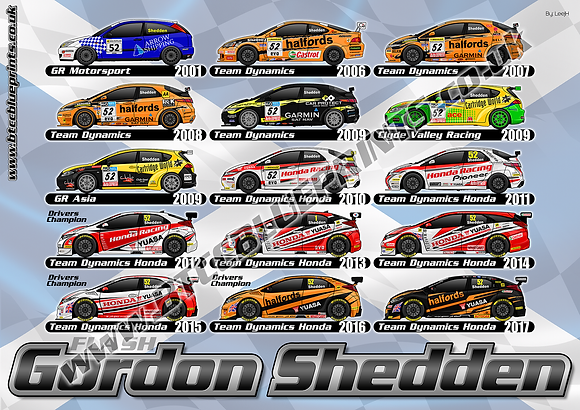 Gordon Shedden career