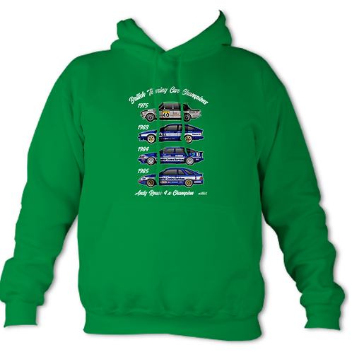 Andy Rouse 4 x Champion | Adult Unisex | Hoodie