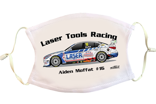 Aiden Moffat 2021   Laser Tools Racing   Face Mask