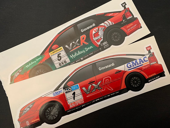 Fabrizio Giovanardi Champion Sticker Set