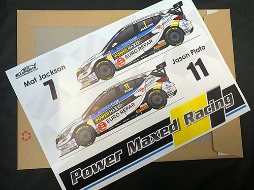 Power Maxed Racing 2020 Poster