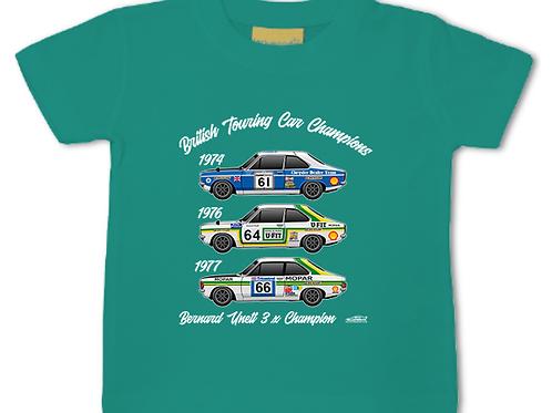 Bernard Unett 3 x Champion | Baby/Toddler | Short Sleeve T-shirt