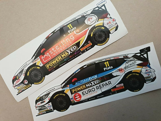 Jason Plato PMR Sticker Set