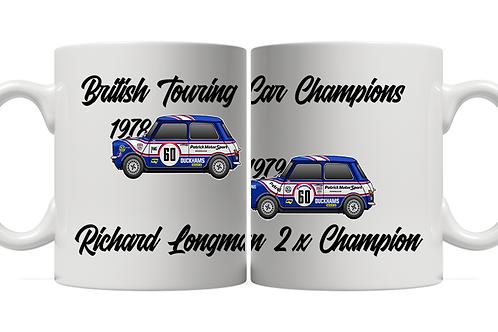 Richard Longman 2 x Champion 11oz Mug