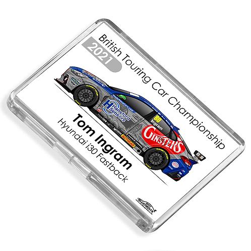 Tom Ingram 2021   Excelr8 Motorsport   Magnet