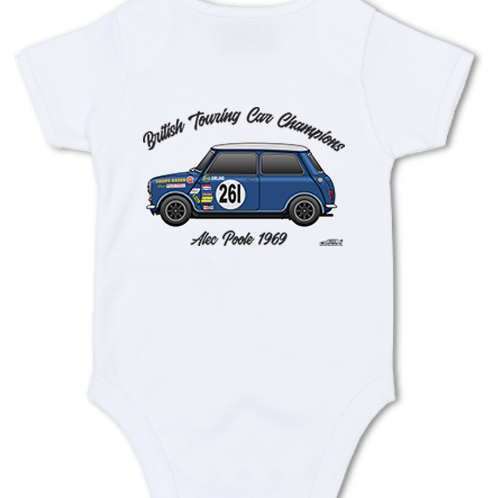 Alec Poole 1969 Champion | Baby Grow