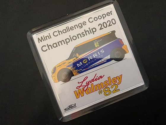 Lydia Walmsley 2020 Coaster