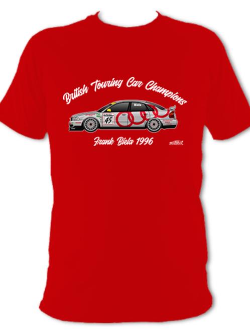 Frank Biela 1996 Champion | Adult Unisex | Short Sleeve T-Shirt