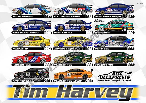 Tim Harvey career