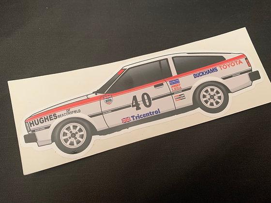 Win Percy 1982 Champion Sticker