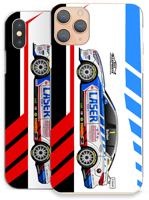 Ashley Sutton 2021 | Laser Tools Racing | Huawei Honor Phone Case