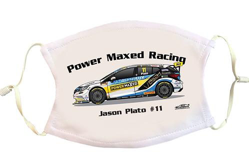 Jason Plato 2021   Power Maxed Racing   Face Mask