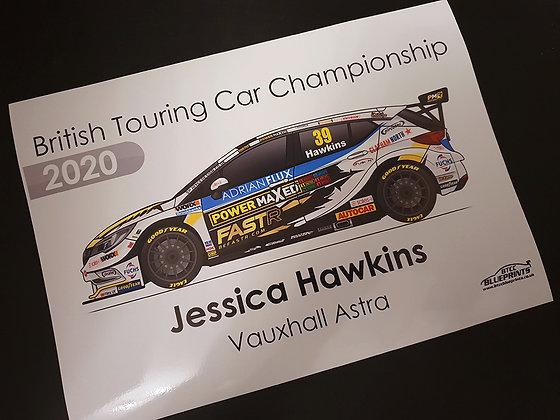 Jessica Hawkins 2020 Poster