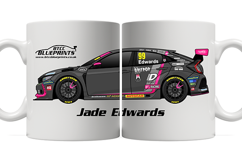 Jade Edwards 2021 | BTC Racing | 11oz Mug