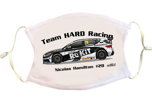 Nicolas Hamilton 2021 | Team HARD | Face Mask