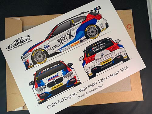 Colin Turkington Drivers' Champion 2018 Poster
