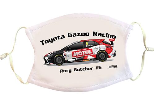 Rory Butcher 2021   Toyota Gazoo Racing   Face Mask