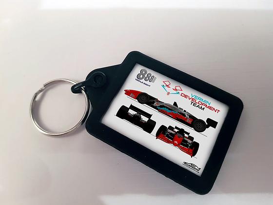 Triple Eight Vermin Development Racing Keyring