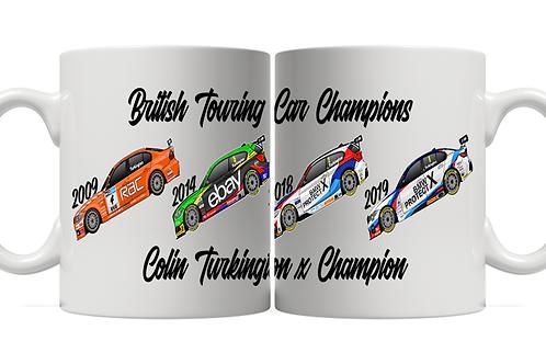 Colin Turkington 4 x Champion 11oz Mug