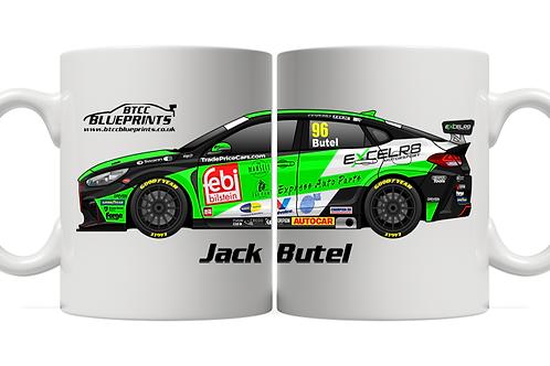 Jack Butel 2021   Excelr8 Motorsport   11oz Mug