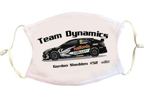 Gordon Shedden 2021   Team Dynamics   Face Mask