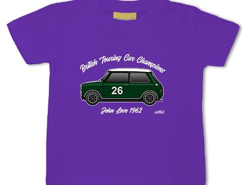 John Love 1962 Champion | Baby/Toddler | Short Sleeve T-shirt