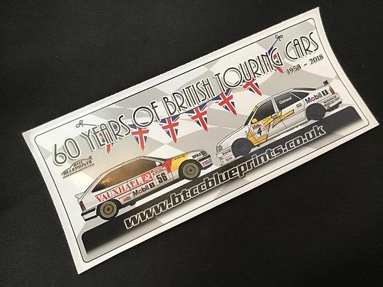 60 Years of BTCC Sticker 'Cleland'