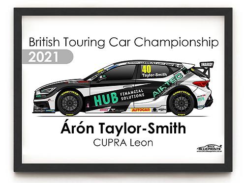 Árón Taylor-Smith 2021 | Team HARD | A3 - A0 Poster