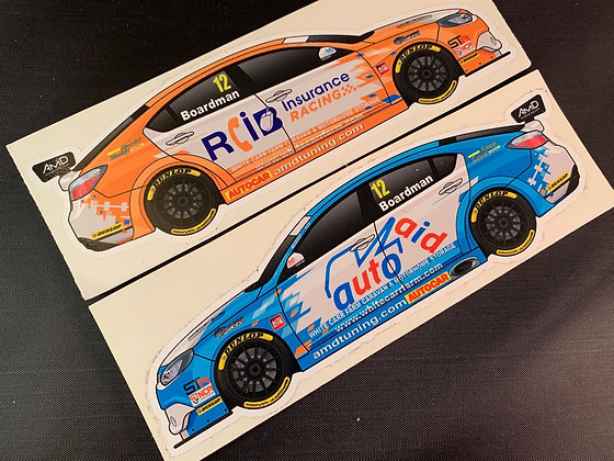 Tom Boardman 2018 Stickers