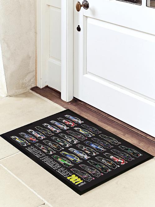 2021 BTCC Grid Door Mat