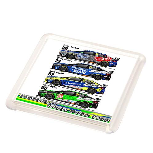 Excelr8 Motorsport 2021 | Coaster