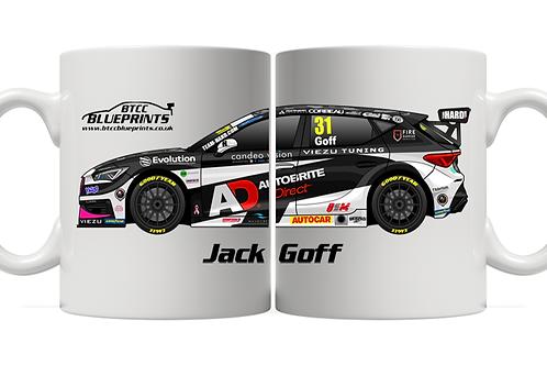 Jack Goff 2021 | Team HARD | 11oz Mug