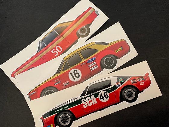Frank Gardner Champion Sticker Set