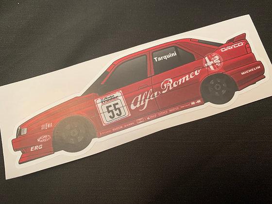 Gabriele Tarquini 1994 Champion Sticker