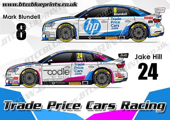 2019 Trade Price Cars Racing Team Poster