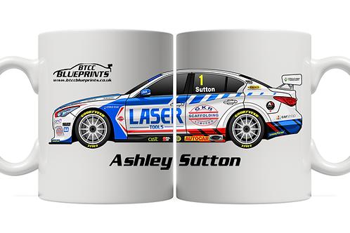 Ashley Sutton 2021 | Laser Tools Racing | 11oz Mug