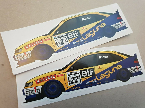Williams Renault Laguna BTCC Sticker Set