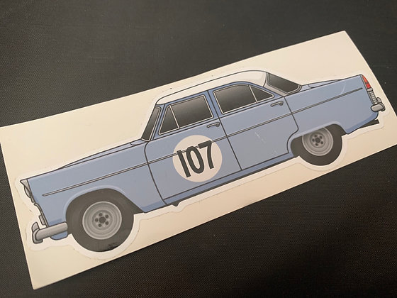 Jeff Uren 1959 Champion Sticker