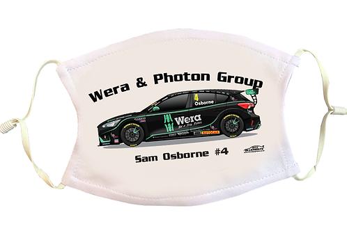 Sam Osborne 2021   Motorbase Performance   Face Mask