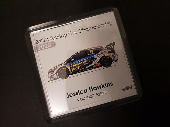 Jessica Hawkins 2020 Coaster