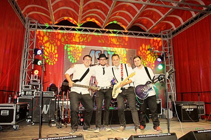 Rock'n'Roll beim 33. Brunnenfest in Schaffhausen