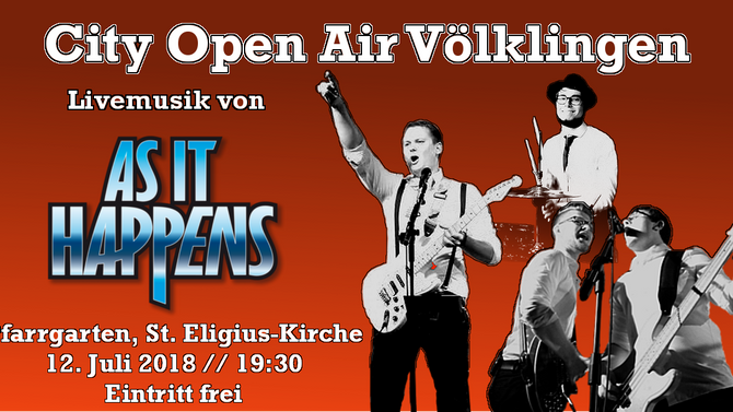 Ankündigung: City Open Air Völklingen
