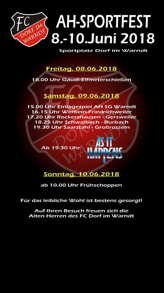 AH-Sportfest Dorf im Warndt (AiH-Trio)