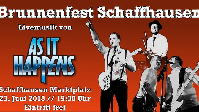 Ankündigung: Brunnenfest Schaffhausen