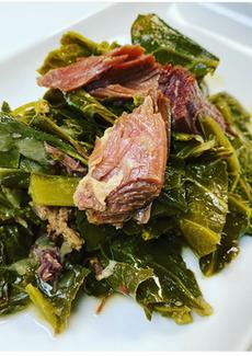 Collard Greens w/smoked pork