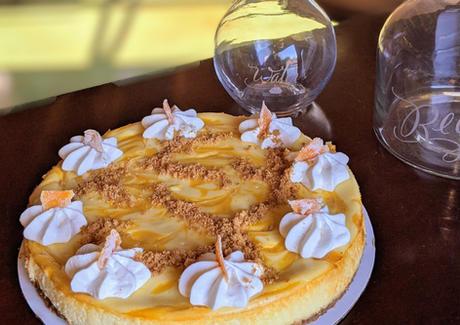 Grapefruit Cheese cake 9 inch