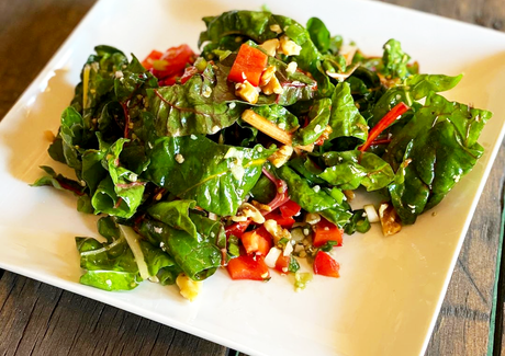 Rainbow Chard Salad