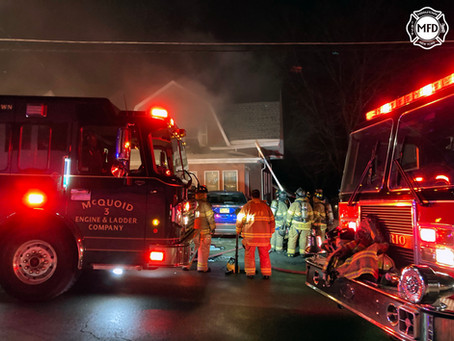 Middletown Firefighters Respond to 78 Watkins Ave.