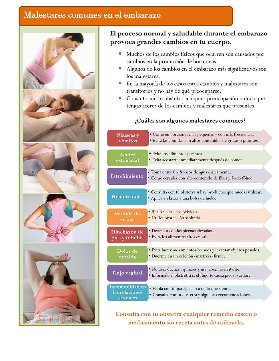 13. Malestares comunes en el embarazo 20
